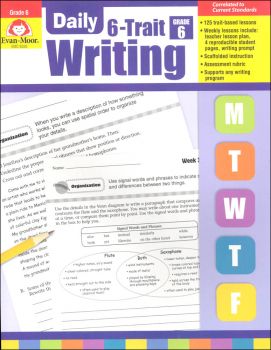 Daily 6-Trait Writing Grade 6