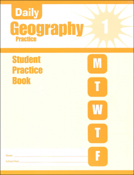 Daily Geography Practice Grade 1 - Individual Student Workbook