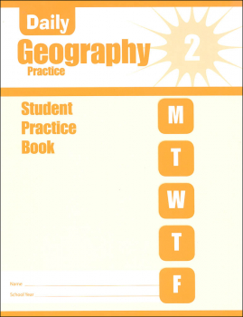 Daily Geography Practice Grade 2 - Individual Student Workbook