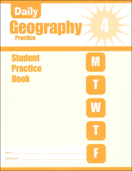 Daily Geography Practice Grade 4 - Individual Student Workbook