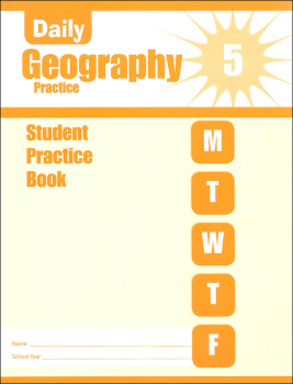 Daily Geography Practice Grade 5 - Individual Student Workbook