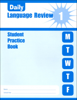 Daily Language Review Grade 1 - Individual Student Workbook