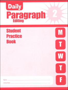 Daily Paragraph Editing Grade 2 - Individual Student Workbook