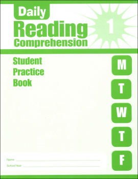 Daily Reading Comprehension Grade 1 - Individual Student Workbook