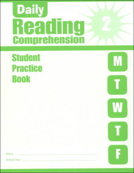 Daily Reading Comprehension Grade 2 - Individual Student Workbook