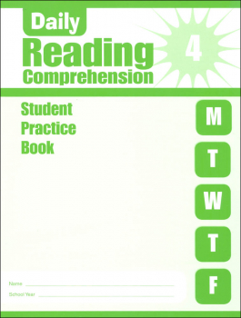 Daily Reading Comprehension Grade 4 - Individual Student Workbook
