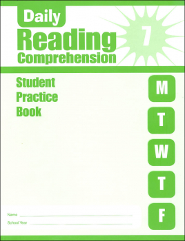 Daily Reading Comprehension Grade 7 - Individual Student Workbook