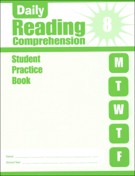 Daily Reading Comprehension Grade 8 - Individual Student Workbook
