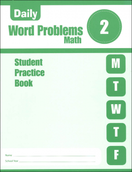 Daily Word Problems Grade 2 - Individual Student Workbook