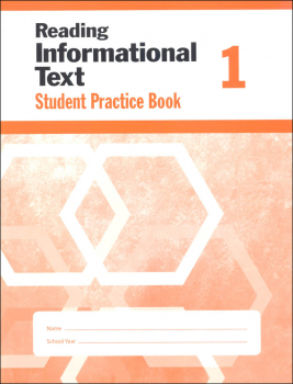 Reading Informational Text Grade 1 - Individual Student Workbook