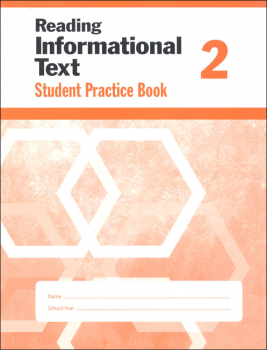 Reading Informational Text Grade 2 - Individual Student Workbook
