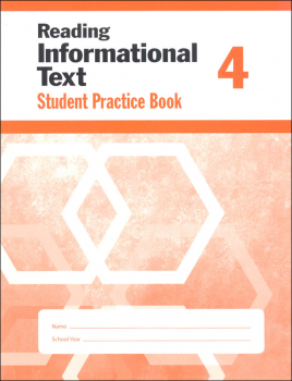 Reading Informational Text Grade 4 - Individual Student Workbook