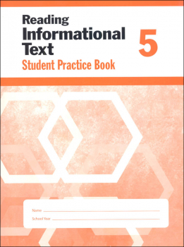 Reading Informational Text Grade 5 - Individual Student Workbook