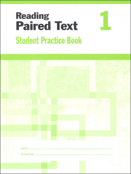 Reading Paired Text Grade 1 - Individual Student Workbook