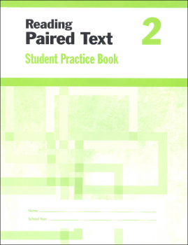 Reading Paired Text Grade 2 - Individual Student Workbook