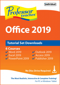 Professor Teaches Office 2019 Tutorial Set Digital