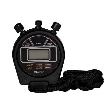 Alarm Stopwatches - Black