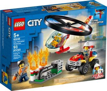 LEGO City Fire Helicopter Response (60248)