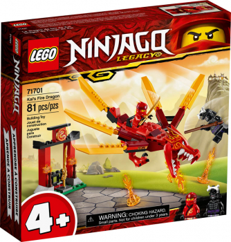 LEGO Ninjago Kai's Fire Dragon (71701)
