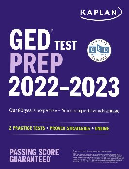 GED Test Prep 2021: 2 Practice Tests & Proven Strategies & Online (Revised)