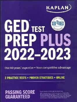 GED Test Prep Plus 2021: 2 Practice Tests & Proven Strategies + Online (Revised)