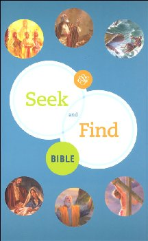 Seek and Find Bible (hardcover)
