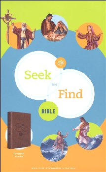 Seek and Find Bible (trutone, brown)