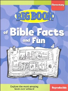 Big Book of Bible Facts and Fun for Elementary Kids