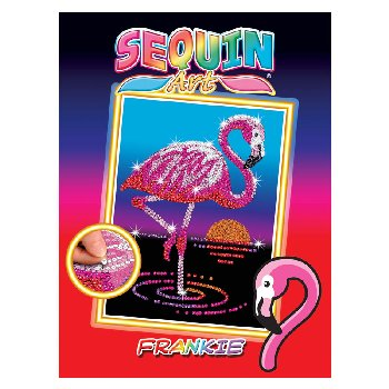 Sequin Art Red Frankie the Flamingo