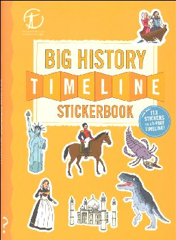 Big History Timeline Stickerbook: From the Big Bang to Present Day