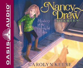Mystery of the Midnight Rider Unabridged Audio CD #3 (Nancy Drew Diaries)