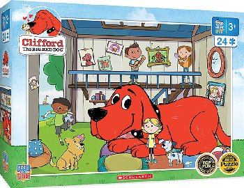 Clifford Right Fit Puzzle - Doghouse (24 piece)