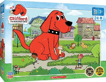 Clifford Right Fit Puzzle - Town Square (24 piece)