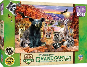 Grand Canyon National Park Puzzle (100 piece)