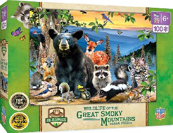 Great Smokey Mountains National Park (100 piece)