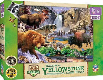 Yellowstone National Park Puzzle (100 piece)