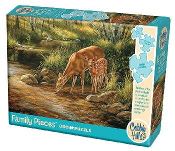 Deer Family Puzzle (Family 350 piece)
