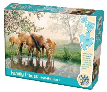 Horse Family Puzzle (Family 350 piece)