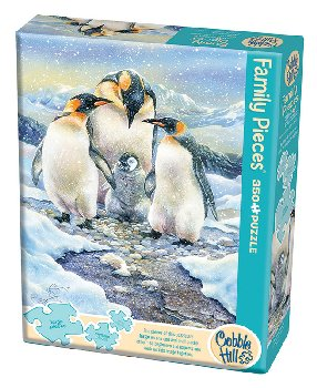 Penguin Family Puzzle (Family 350 piece)