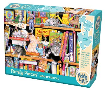 Storytime Kittens Puzzle (Family 350 piece)