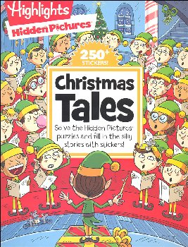 Hidden Pictures Silly Sticker Stories - Christmas Tales
