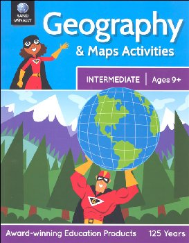 Geography & Maps Activities - Intermediate