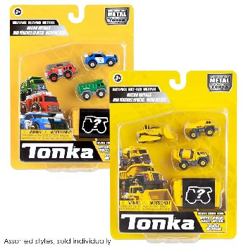 Tonka Micro Metals - Multipack (assorted styles)