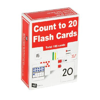 Count to 20 Flash Cards (set of 105)