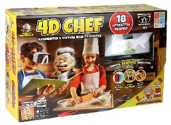 4D Chef Augmented Reality Recipes