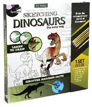 Sketching Dinosaurs (Art Studio)