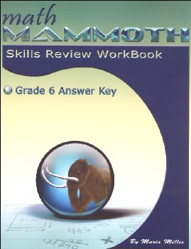 Math Mammoth Grade 6 Color Skills Review Workbook Answer Key