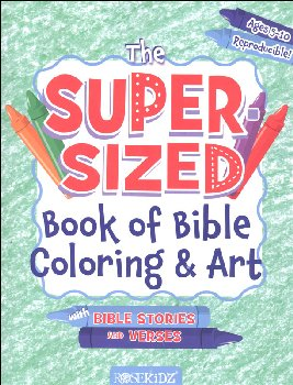 Super-Sized Book of Bible Coloring & Art