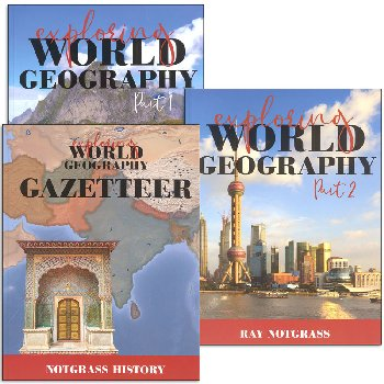 Exploring World Geography Curriculm Package