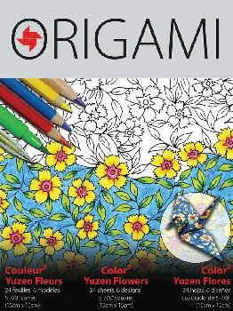 Colorfold Origami Paper - Yuzen Flowers (24 sheets)